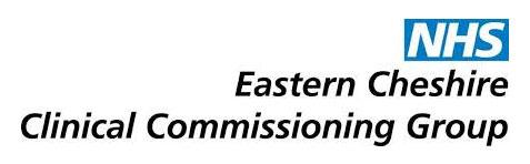 East Cheshire CCG Logo