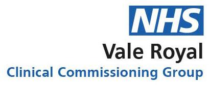 Vale Royal CCG Logo