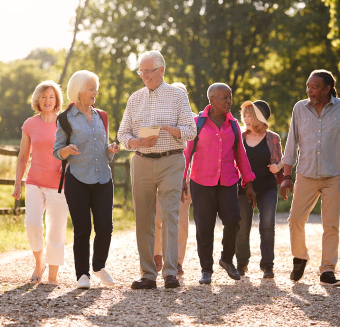 Carers Walk & Talk in Wirral on 8th June 2021